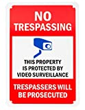 Aluminum Sign for Home Business Security, Legend
