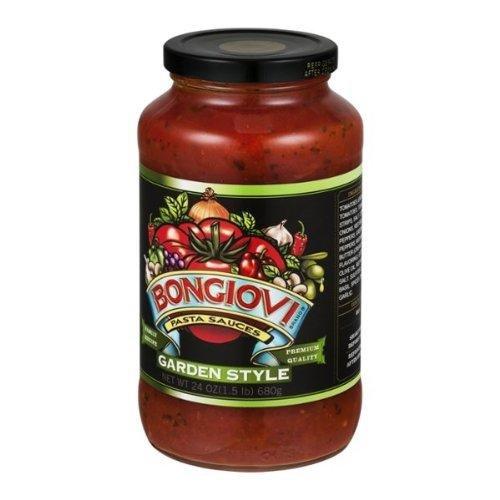 Bongiovi Garden Style Pasta Sauce, 24 Ounce -- 6 per case.