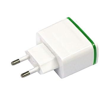 SODIAL Cargador De Pared De 4 Puertos USB?Universal 5V 4A ...