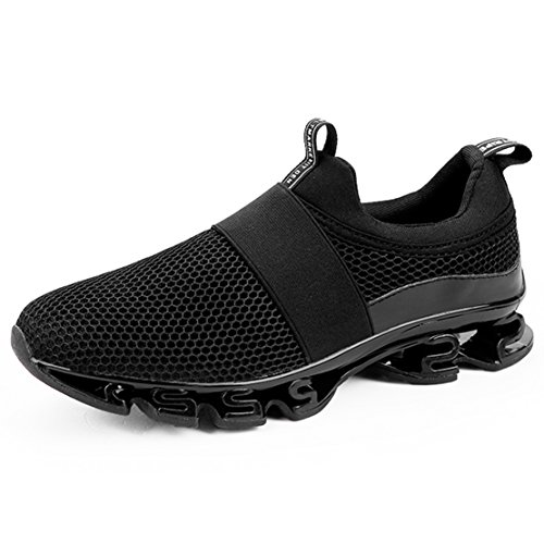 Sports Mens Walking 4 Running Blade Breathable Outdoor Shoes Black Shoe WYSBAOSHU Sneakers Mesh HBqwxzB