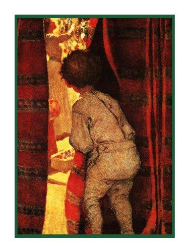(Orenco Originals Child Christmas Magic by Jessie Willcox Smith Counted Cross Stitch Pattern)
