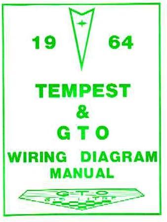 Amazon.com: bishko automotive literature 1964 Pontiac GTO Tempest Electrical  Wiring Diagrams Schematics Manual Book OEM: AutomotiveAmazon.com