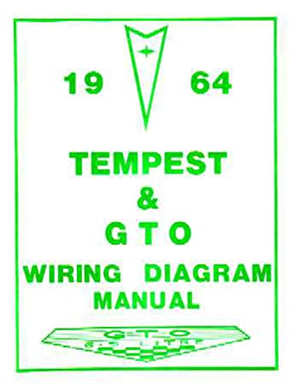 amazon com bishko automotive literature 1964 pontiac gto tempest rh amazon com Jeep Wiring Diagrams Automotive Jeep Wiring Diagrams Automotive