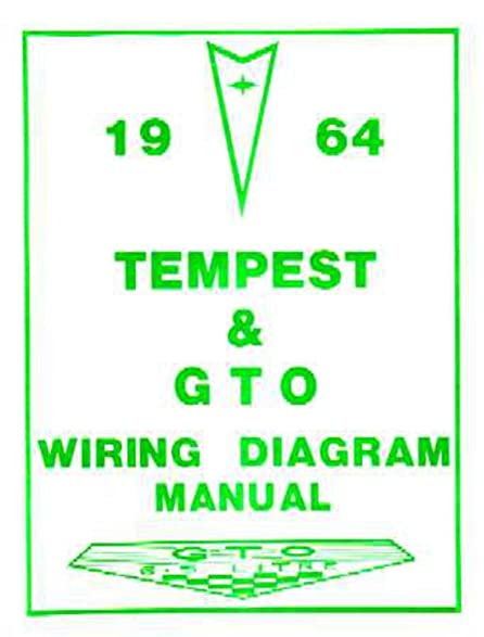 amazon com 1964 pontiac gto tempest electrical wiring diagrams rh amazon com 1964 pontiac catalina wiring diagram 1964 pontiac parisienne wiring diagram
