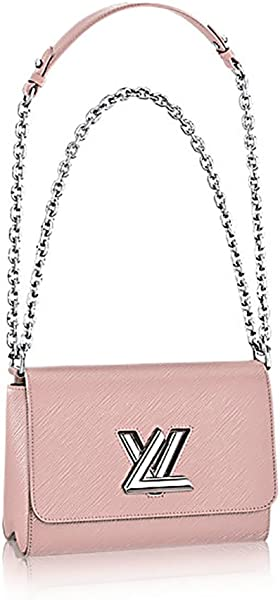 fce139acb972 Authentic Louis Vuitton Epi Leather Twist MM Handbag Article  M50380 Pink  Made in France  Handbags  Amazon.com
