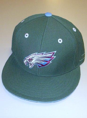 Philadelphia Eagles Kolors Basics 12/1 Launch Fitted Flat Bill Reebok Hat - Size 7 1/8 - TE36K