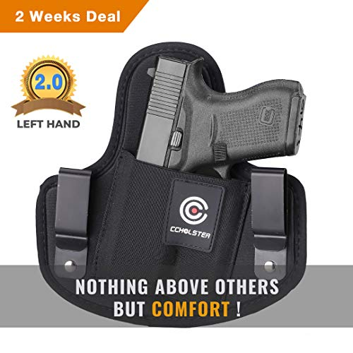 "Ultimate Comfortable IWB Holster V2.0 | Fits Pistols Revolvers with Less Than 3.5"" Barrel 