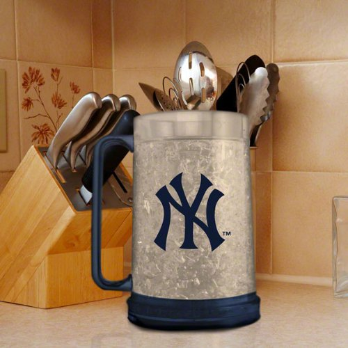 amazon com mlb new york yankees freezer mug insulated acrylic