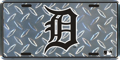 Hangtime 2713 Detroit Tigers License Plate 6 x 12 inches