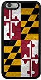 iPhone 6/6s Plus Rustic Maryland Flag Case TPU