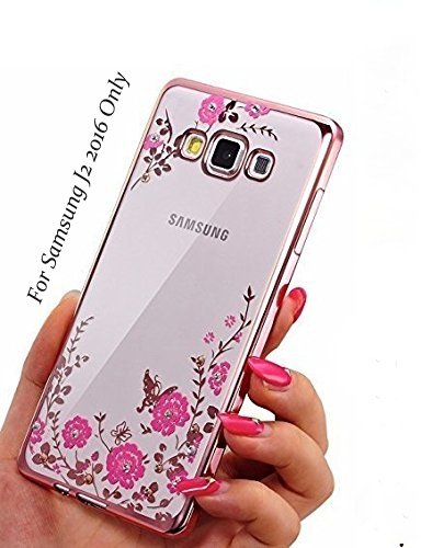 purchase cheap f77b5 a8eff LOXXO Transparent TPU Back Cover for Samsung J2 2016: Amazon.in ...