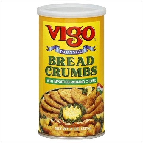 Vigo Bread Crumbs Italian, 8-ounces (Pack of12)