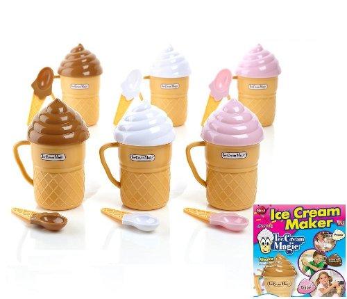 Ice Cream Magic - Ice Cream Maker - Set of (Kids Ice Cream Machine)
