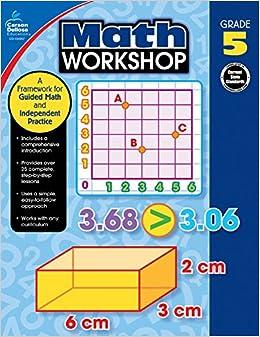 Grade 4 Carson-Dellosa Math Workshop Resource Book
