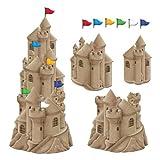 Stackable Sandcastle Cutouts (6 flag cutouts included)  (3/Pkg)