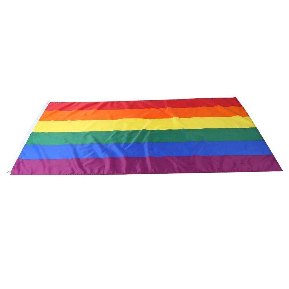 Rosa P/úrpura Azul Gran Tama/ño para Interiores y Exteriores Celebrar la Diversidad en Bi Pride y Festivales Fiestas de Verano 5ft x 3ft trixes Bandera Bisexual
