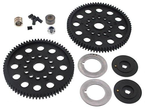 nitro rustler spur gear - 9