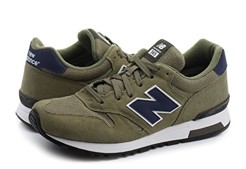 New Uomo marrón Ml565v1 Balance Sneaker Marrone 1qrwR7qp