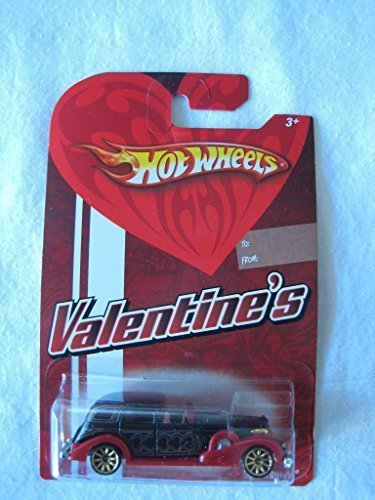 (Hot Wheels Mattel 2009 Valentine's Cool Cars Metal 1:64 Scale Die Cast Car '35 Cadillac)
