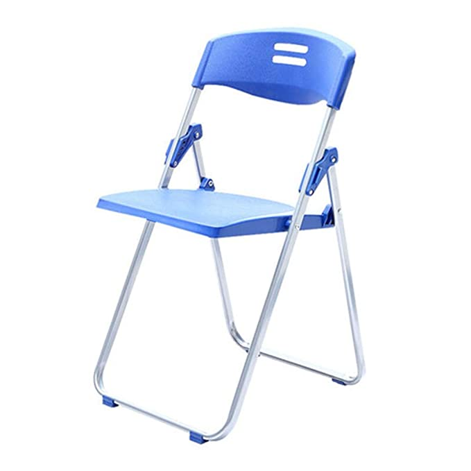 Amazon.com : DJDL Folding Chair Conference Chair Office Furniture PP ...