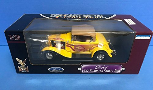 Ford Roadster Street Rod (1932 Ford Roadster Street Rod 1/18 diecast Road Signature Deluxe Collection)