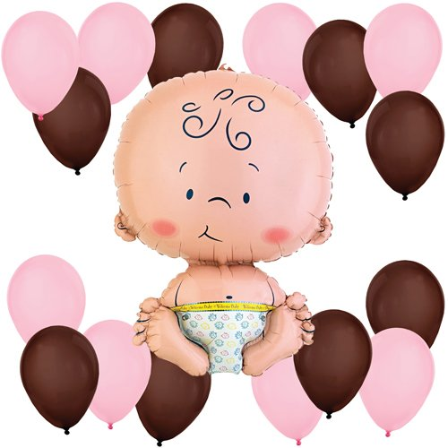 Girl Baby Balloon Kit