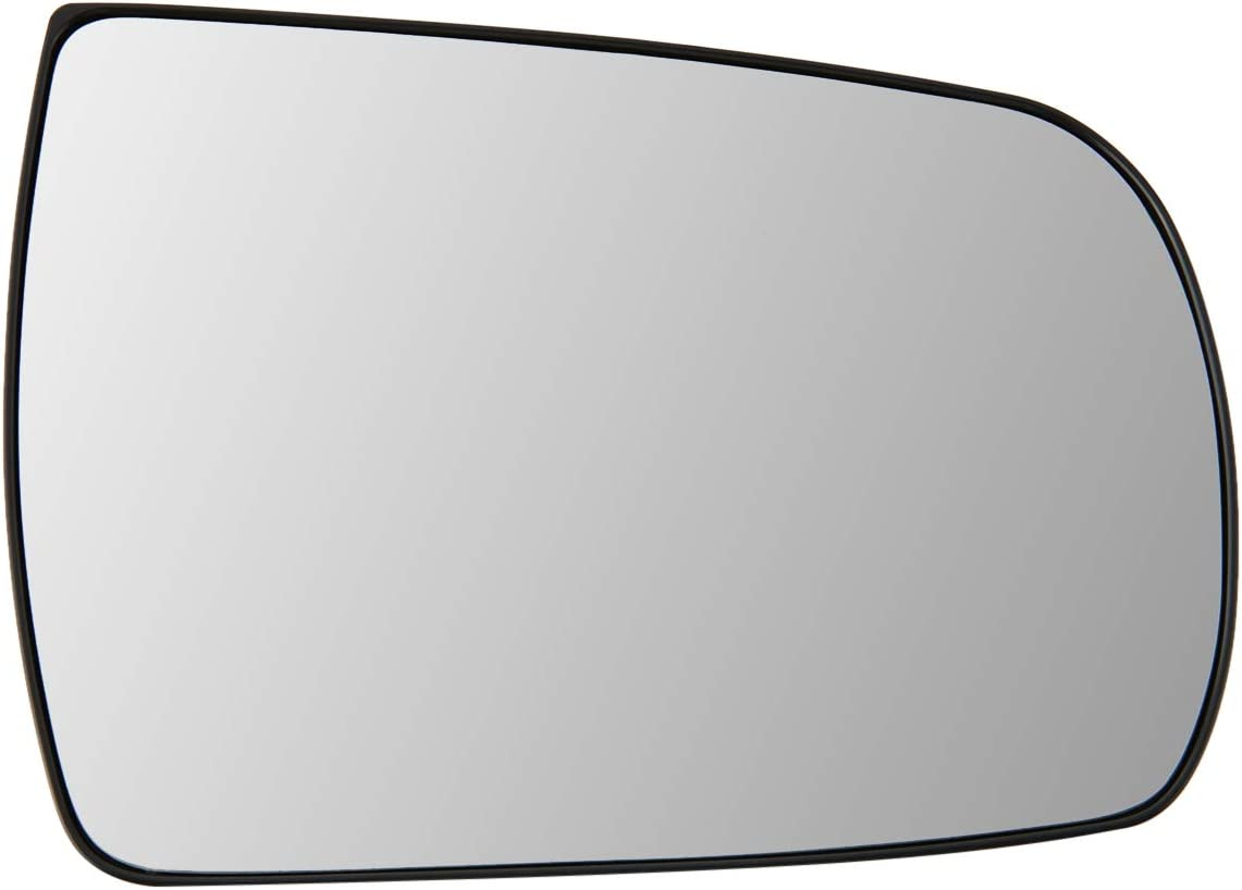 876211M100 OE Style Passenger//Right Side Mirror Glass Lens Replacement for Forte Sedan Hatchback 10-13