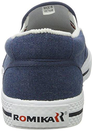 Blu Unisex jeans Adulti Mocassini Laser Romika q4wzTxAnWg