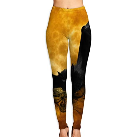 Amazon.com: Cooby Roman Womens Yoga Leggings Pants Quirky ...
