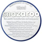 Halloween Scary Clown IT Snazaroo Water Based Face & Body Make Up For Fancy Dress - White 18ml by Snazaroo