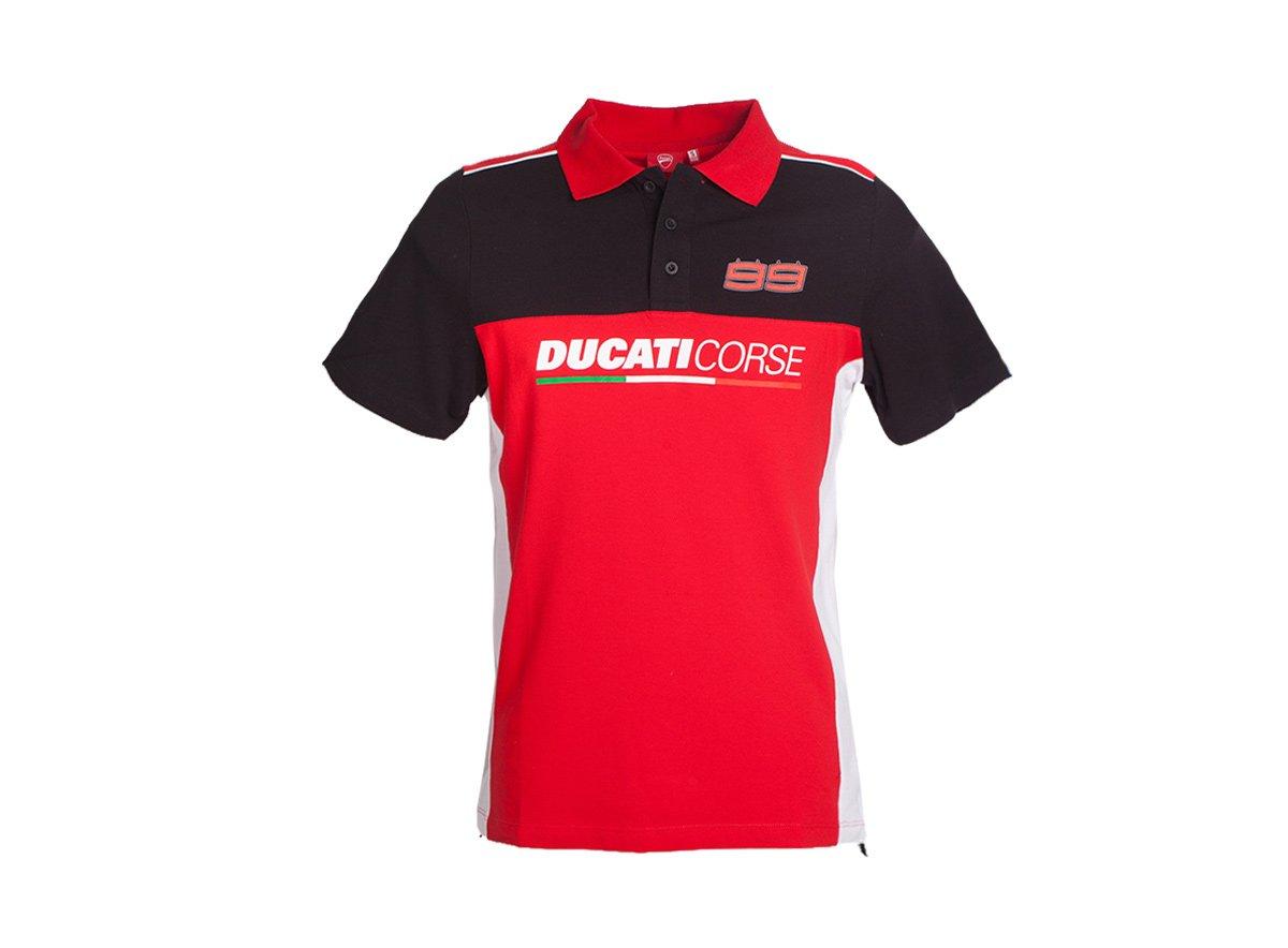2017 Jorge Lorenzo polo camiseta oficial Ducati Corse equipo de ...