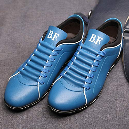 Frenchenal Chaussure Cuir Cuir Mariage Dressing Derby Oxford En Lacets Ciel Bleu Chaussures Business Homme rErdqBw