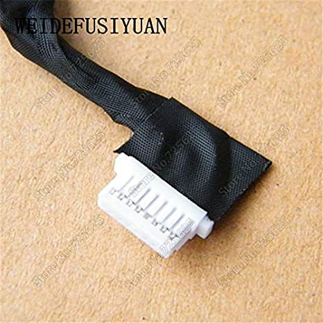 Cable Length: 1PCS Computer Cables AC DC Power Jack Harness Cable for Dell Inspiron 5480 Charging Port Connector Socket