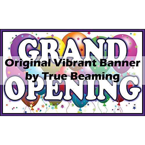 True Beaming 3ft x 5ft - Grand Opening Banner (Vibrant Color)
