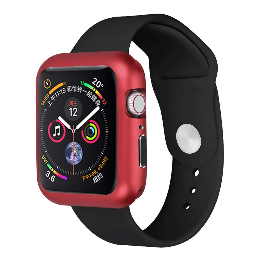 ABASSKY Magnetic Frame Watch Case Protective Cover for Apple Watch Series 4 44mm (Red) by ABASSKY (Image #1)