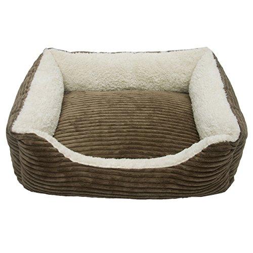 Iconic Pet Luxury Lounge Pet Bed, Large, Dark Moss