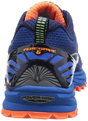 Saucony Peregrine 5 -Saucony zapatillas hombre, talla 45, color azul