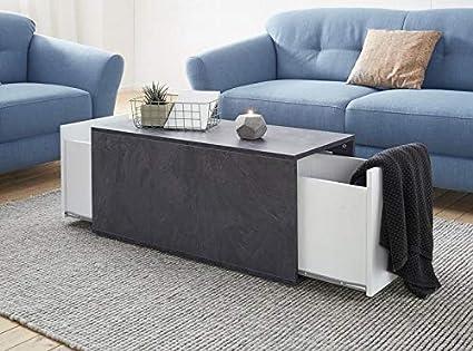 Amazon.de: Moebelaktionsshop24 COUCHTISCH Tisch Wohnzimmer ...
