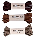 Shoeshine India Trekking Boot Lace Casual Round Shoe Lace 90cm