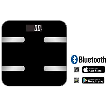 LUOYIMAN Body Fat Scale Bluetooth Bathroom Weight Scale Digital Body Scale  with Muscle Mass