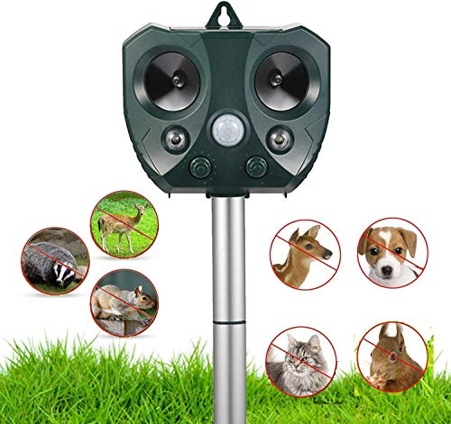 Ultrasonic Animal Repellent OutdoorSolar