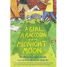 Girl a Raccoon & the Midnight Moon