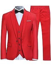 Ab 10% Rabatt auf alle Herren 3-Teilig Slim Fit Anzug