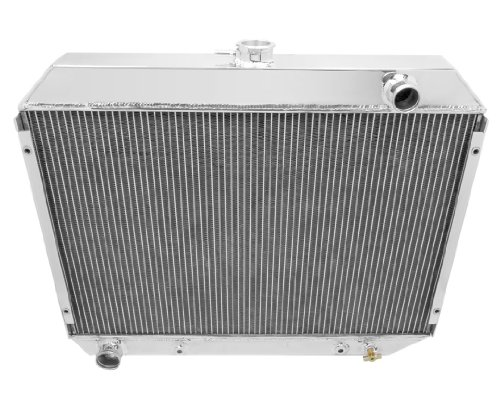 Champion Cooling, 4 Row All Aluminum Radiator for Dodge Plymouth Models, MC375