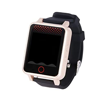 Sharplace Pantalla Táctil Sos WiFi Niños Prueba de Agua Deportivo Ancianos Reloj Inteligente GPS: Amazon.es: Electrónica