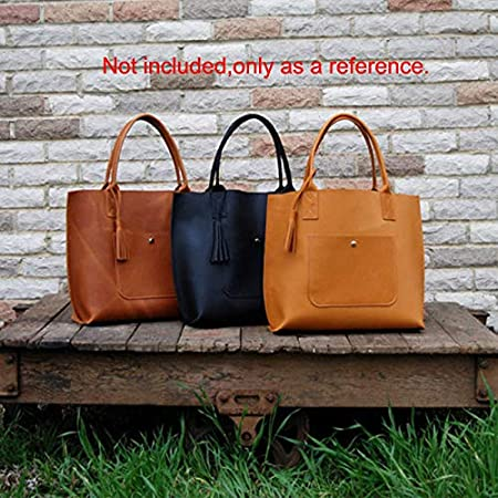 10.2x12.5x14.5inch Small NW AAB-208 Handbag Shoulder Bag Acrylic Template Leather Pattern Acrylic Leather Pattern Leather Templates for Shoulder Bags