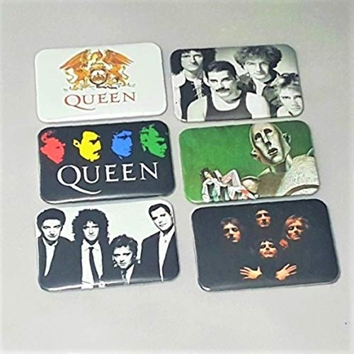 Queen Freddie Mercury - Queen News Of The World - Queen Crest - LGBT Magnets - Freddie Mercury Gifts - Freddie Mercury Fan - Queen Band Photo