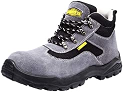LARNMERN Mens Steel Toe Safety Shoes, LM...