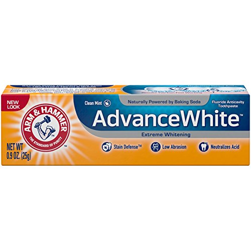 Arm & Hammer Advance White Extreme Whitening Toothpaste, 0.9 oz (Packaging May Vary)