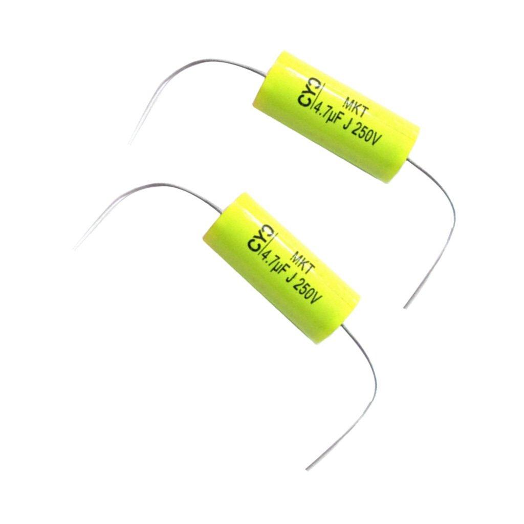 Baoblaze 4 Piezas Condensador de Frecuencia de Altavoz de Polipropileno 250V 4.7UF
